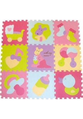 Babygreat Covoras Puzzle Micul Cangur 92x92 cm