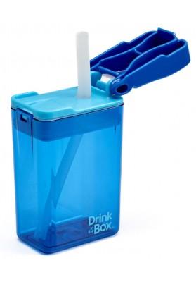 Cana cu pai pentru copii Drink in the Box 0.24L albastru