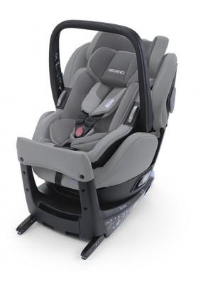 Scaun Auto cu Isofix, Rotativ 360° Salia Elite Prime Silent Grey