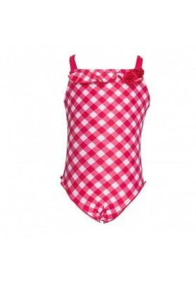 Costum de baie - VICHY FUSHIA (intreg) (marime 10 ani)