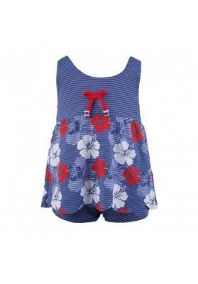 Costum de baie cu dubla protectie HAWAII ROUGE GIRL ( 36 lun