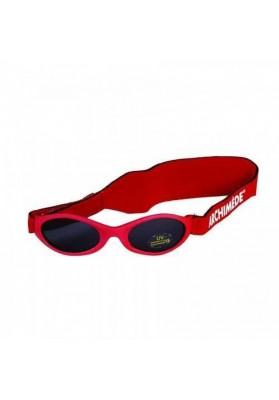 Ochelari de soare Baby Rosu cu elastic