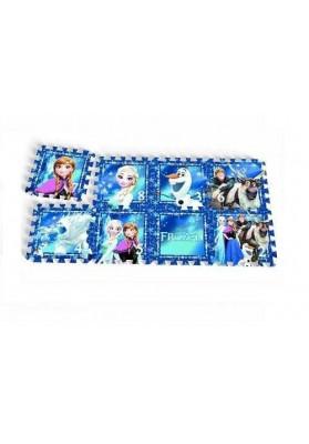 "Covoras Puzzle Frozen - ""Frozen Night"", 8 buc, Knorrtoys 21011"