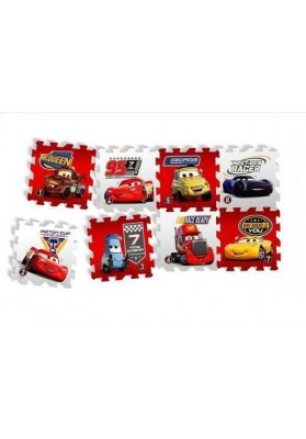 """Covoras Puzzle Cars - """"Race of a Lifetime"""", 8 buc, Knorrtoys 21013"""