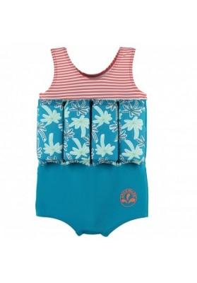 Costum de inot flotabil Tropical (marime - 4 ani)