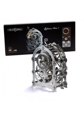 Kit Puzzle Mecanic 3D, Metal, TimeForMachine, Model Cronometru Mysterious Timer 2