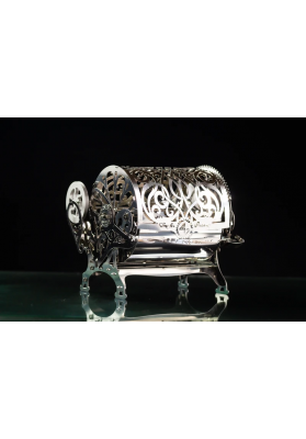 Kit Puzzle Mecanic 3D, Metal, TimeForMachine, Model Cutia Secretelor