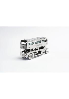 Kit Puzzle Mecanic 3D, Metal, TimeForMachine, Model Cute Double Decker