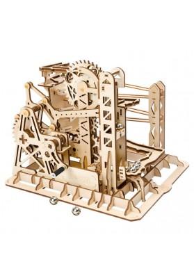 Puzzle 3D Marble Explorer, ROKR, Lemn, 219 piese
