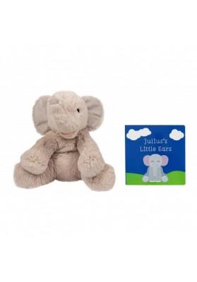 Pearhead - Set cadou elefantel de plus si carticica