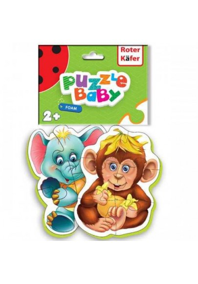 Roter Kafer Puzzle Maimutica-Elefantel