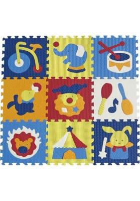 Babygreat Covoras Puzzle Circul Minunat 92x92 cm