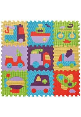 Babygreat Covoras Puzzle Transport 92x92 cm