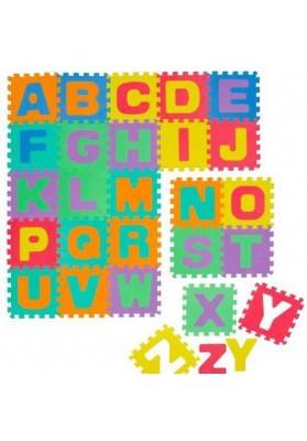 Covoras Puzzle Alfabet, 26 buc. x 30 cm, Knorrtoys