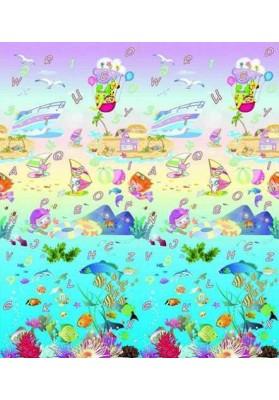 Covoras Minunata lume subacvatica/Oras de basm 180x200x 1cm